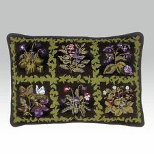 "Ehrman 1991 Margaret Murton HERBAL SQUARES Tapestry Needlepoint Kit 20""x14"" Rtd"