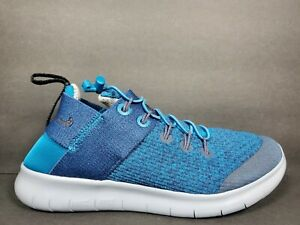 Nike Free RN Commuter Prem Womens Size 6.5 Shoes Blue Green Abyss Ink AA1622 300