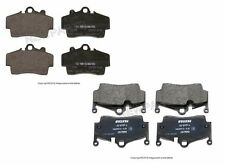 For Porsche Boxster Cayman Set of Front & Rear Brake Pad Set Textar