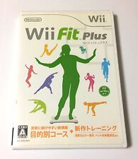 USED Nintendo Wii Wii Fit Plus JAPAN import Japanese game