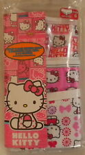 NWT HELLO KITTY GIRLS 3 ASSORTED HIPSTER PANTY UNDERWEAR SIZE 6