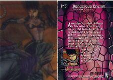Avengelyne Lenticular Motion Card M3 1996 Rob Liefeld NM/Mint Rare