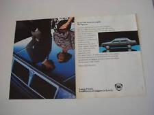 advertising Pubblicità 1984 LANCIA PRISMA