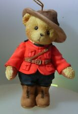 """CHERISHED TEDDIES """"CANADIAN MOUNTIE H/O"""" 100118 NEW & MINT IN BOX"""