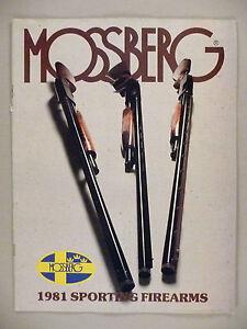 Mossberg Sporting Firearms CATALOG - 1981