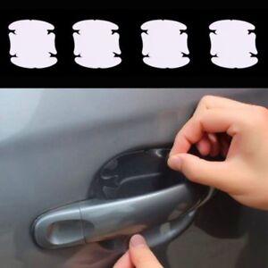 4x Poignée de Porte Creux Film Protection Transparent Contre Éraflures Macken