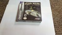 Star Wars: Flight of the Falcon Game Boy Advance gba new