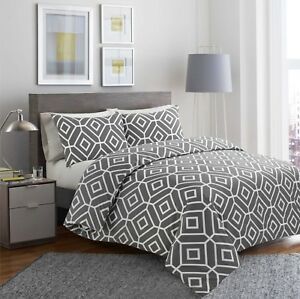 Ultra Fabrics 100% Egyptian Cotton Printed Duvet Cover Sets/Quilt Sets All Sizes