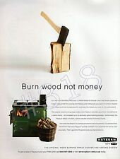 RAYBURN Original Woodburning Range Cooker and CH ADVERT - 2008 Advertisement