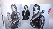 The Walking Dead TWD Negan Daryl Rick TV Show - Coffee MUG CUP - Gift Set Of 3