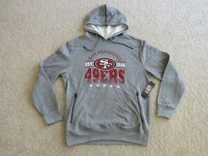 NFL.com SAN FRANCISCO 49ERS P/O Hoodie Sweatshirt Men M New Sweet^