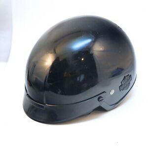 Harley Davidson Motorcycle Helmet, Black, Medium, Used