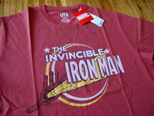 UNIQLO x MARVEL Ironman t-shirt sz L vtg avengers tony starks authentic licensed