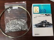 R Model #35051 1/35 Metal Track For WWII Italy M13/40 Light Tank