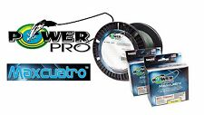 PowerPro Maxcuatro Spectra Braided Fishing Line 300 Yards- Pick line Test