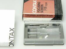 Contax fw-4 focalizzare la Screen uno Tell disco F. ST, RX, AX