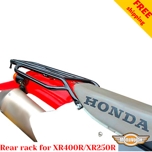 For Honda XR 400 rear rack XR 250 R rear luggage rack XR400R Motard XR250 Baja