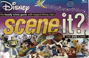 Disney Scene it? DVD Board Game Replacement Parts & Pieces 2005 Mattel
