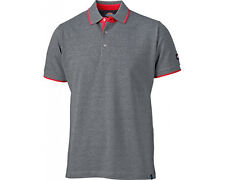 Dickies 22 Anvil Polo Shirt Dt2000 Mens Two Tone Work T-shirt XL Grey
