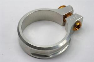 KCNC SC11 Screw Seatpost Clamp Silver 34.9mm