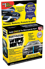 Rust-Oleum Wipe New Trim Surface Restore Car Home Plastic Renew Pro 1.5 fl. oz.
