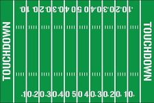 Football Field Yardline Decals Removable Vinyl 2042