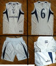 SCOZIA Basket Top Large & Shorts Medio - #6 + MATCH WORN basket shirt