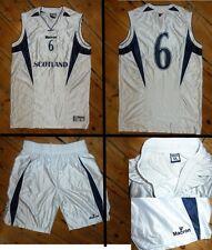 La Scozia Basket Top GRANDI & Pantaloncini Medium - # 6 + MATCH WORN BASKET SHIRT