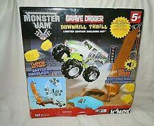K'NEX Monster Jam Downhill Destruction Silver Grave Digger Limited Edition Set