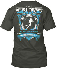 Scuba Diving - Diver Because Other Sports Require Only Hanes Tagless Tee T-Shirt
