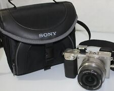 Sony Alpha a6000 24.3 MP Digital Mirrorless Camera +E PZ OSS 16-50mm Lens Silver