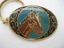 HORSE  HEAD    KEY RING  (KR53)