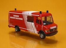 Herpa 093545 Mercedes Benz Vario Langkasten GW-A/S Feuerwehr Landshut Scale 1 87