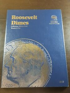 1946 - 1964 Roosevelt Dimes Whitman Album Number one *NO COINS*