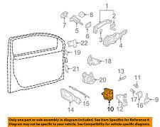 VW VOLKSWAGEN OEM 05-14 Jetta Front Door-Lock Actuator Motor 3B1837015AT