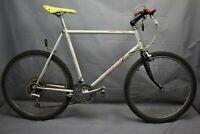 "1985 Ross Mt. Hood High-Tech MTB Bike X-Large 23"" Hardtail SIS Steel USA Charity"