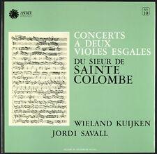 WIELAND KUIJKEN / JORDI SAVALL - 1976 France LP - Astrée AS 10