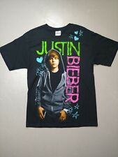 Justin Bieber 2010 Young Photo Tshirt Hanes Size Medium popstar vintage rap hype