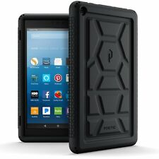 Poetic TurtleSkin Series Case【Heavy Duty Protection】Silicone For Fire HD 8(2017)