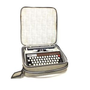 Brother Deluxe 1350 Portable Typewriter Automatic Repeat Spacer Vintage 70's #45