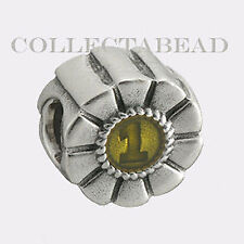 Authentic Pandora Silver 1st Prize Yellow Bead 790519EN15 *RETIRED