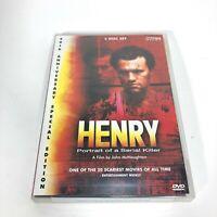 Henry:Portrait of Serial Killer (DVD) 20th Anniversary Special Edition: Region 0
