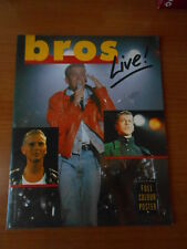 BROS Live! a full coloror photo book OMNIBUS PRESS COLOUR BOOK incl. Poster!!