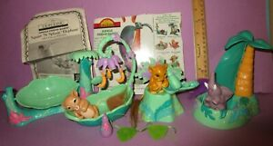 Vintage Lion King Snacking Simba Nap Time Nala Elephant Jungle Friend Babies Lot