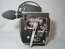 NEW! 13X VIEWER BOLEX H16 REX-5 16MM MOVIE CAMERA with FADER! STUNNING!