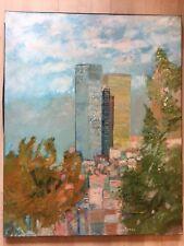 GRAND ET BEAU TABLEAU DE GUY BARDONE 1927-2015 GENIS ÉCOLE DE PARIS MUSÉE