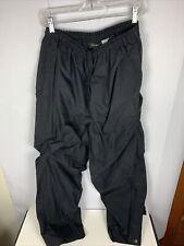 Walter Hagen Golf Rain Gear Jacket Mens Sz Medium Black Waterproof Wind