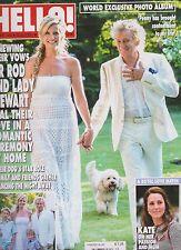 HELLO MAGAZINE #1489 JULY 2017, SIR ROD & LADY STEWART RENEWING THEIR VOWS.