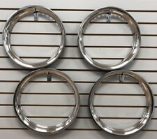 "Split Set Trim Rings 14"" & 15"" NEW Stainless Steel Beauty Rings TRIM RING Mixed"