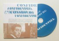 """SERGE GAINSBOURG ♦ LES PREMIERS TITRES - EDITION LIMITÉE CD ♦ """"CONFIDENTIEL"""""""